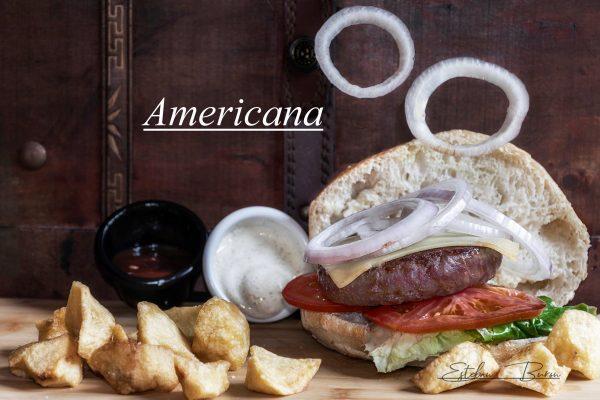 Hamburguesa Americana
